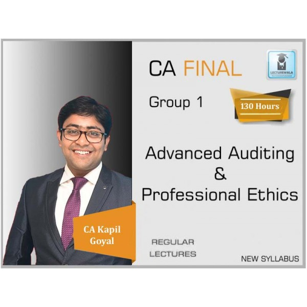 CA Final Audit New & Old Syllabus Crash Course by CA Kapil Goyal (For Nov. 2020 & May 2021)