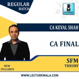CA Final Strategic Financial Management (SFM) Theory Regular: New Syllabus By CA Keval Shah (For Nov.2021)