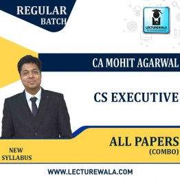 CSEET All Subjects Regular Course Combo : Video Lecture + Study Material By CA Mohit Aggarwal (For May / Nov. 2021)