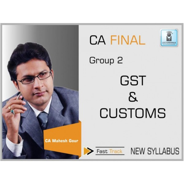 CA Final IDT Fast Track : Video Lecture + Study Material by CA Mahesh Gour (For May & Nov. 2019)