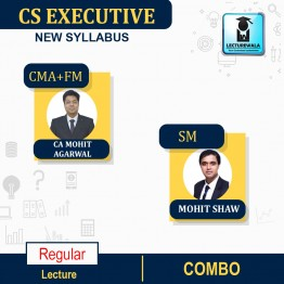 CS Executive Corporate Management Account & FMSM Combo Regular Course : Video Lecture + Study Material By CA Mohit Agarwal & Mohit Shaw (For Dec. 2021, June 2022)
