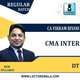 CMA Inter DIRECT TAXATION Regular Course : Video Lecture by CA VIKRAM BIYANI SIR (For June & Dec.2021)