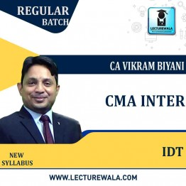 CMA Inter INDIRECT TAXATION Regular Course : Video Lecture by CA VIKRAM BIYANI SIR (For JUNE 2021 TO DEC.2021)