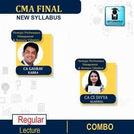 CMA Final Strategic Performance Management & Business Valuation (Paper - 20) Online Live Regular Course : Video Lecture by CA CS Divya Agarwal & CA Gaurav Kabra (For June & Dec.2021)