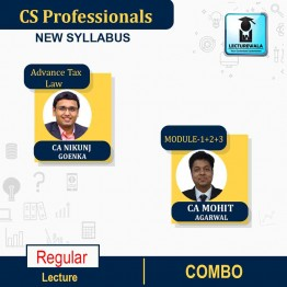 CS Professionals MODULE- 1+2+3 (ALL 9 PAPERS) Combo Regular Course New Syllabus : Video Lecture + Study Material By CA Mohit Agarwal Sir And CA Nikunj Goenka Sir (For Till Dec. 2021)