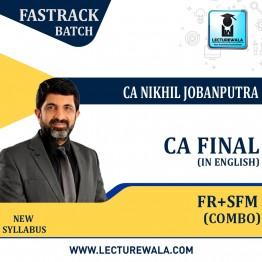 CA Final FR & SFM Combo Regular Course (In English) New Syllabus : Video Lecture + Study Material By CA Nikhil Jobanputra (For Nov 2021 & May 2022 & Nov 2022)