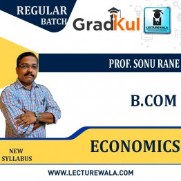 B.com  ECONOMICS  Full Course : Video Lecture + Notes by  Prof. Sonu Rane (For Exam 2020-21)