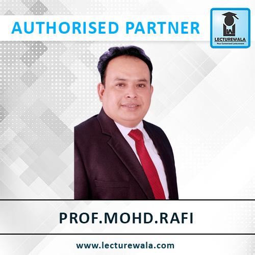 Prof. Mohd. Rafi