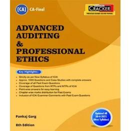 CA FINAL Cracker - Advanced Auditing & Professional Ethics Book by CA Pankaj Garg  For Nov. 2021