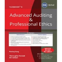 CA Final Advanced Auditing & Professional Ethics Main Book By CA Pankaj Garg  (For Nov. 2021)