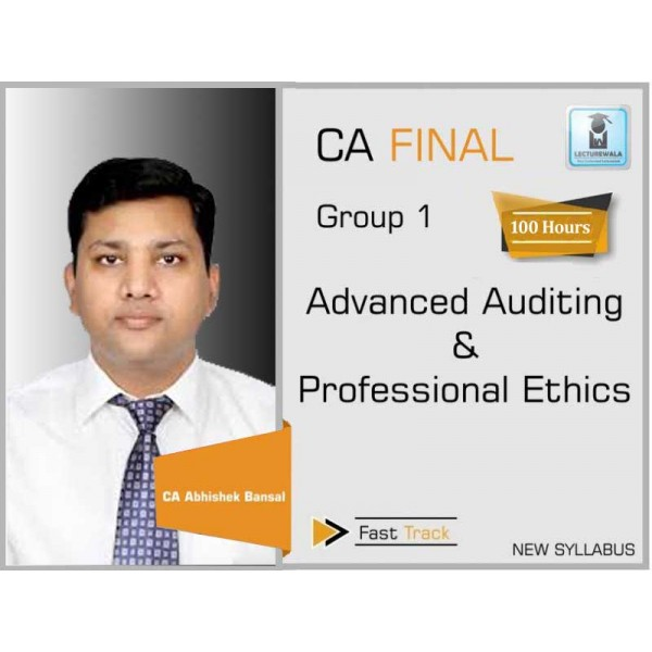 CA Final Audit New Syllabus Crash Course : Video Lecture + Study Material By CA Pankaj Garg (For May 2020 & Onwards)