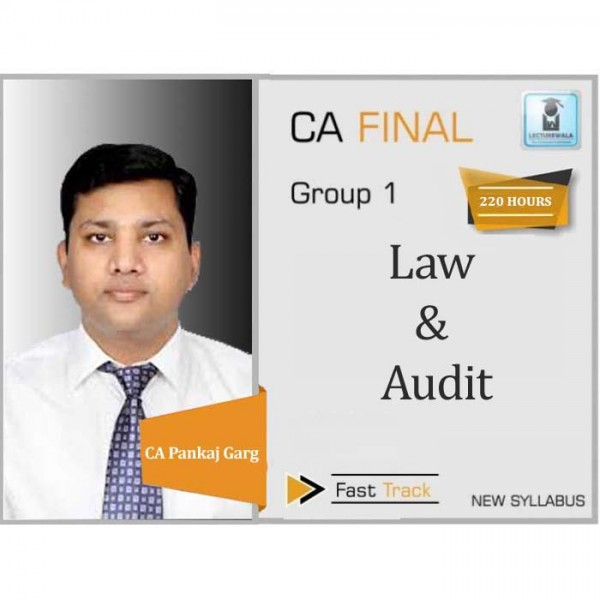 CA Final Corporate & Economic Laws & Advance Audit New Syllabus Crash Course Combo : Video Lecture + Study Material by CA Pankaj Garg (For May 2020 & Nov. 2020)