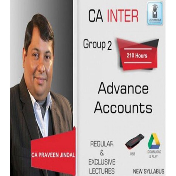 CA Inter Advance Accounting Full Course by CA Parveen Jindal
