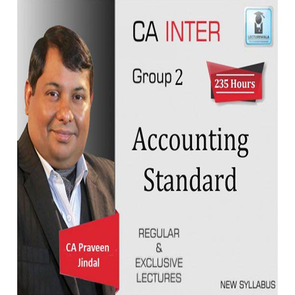CA Inter GR 2 Accounting standard Full Course : Video Lecture + Study Material by CA Parveen jindal (For May 2020 & Onward)