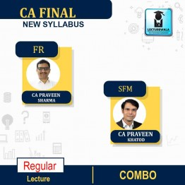 CA FINAL SFM & FR COMBO New Syllabus Regular Course : Video Lecture + Study Material By CA Praveen Khatod & CA Praveen Sharma for (may 2021 to nov.2021)