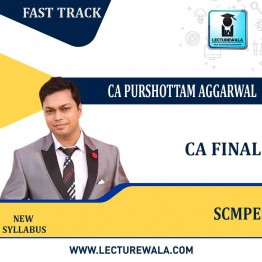 CA Final SCMPE Fast Track New Syllabus : Video Lecture + Study Material by CA Purushottam Aggarwal (For Nov. 2021 & May 2022)
