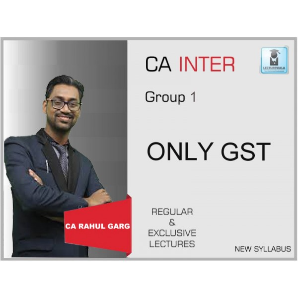 INTERMEDIATE GOODS AND SERVICES TAX (For May-19) By CA Rahul Garh