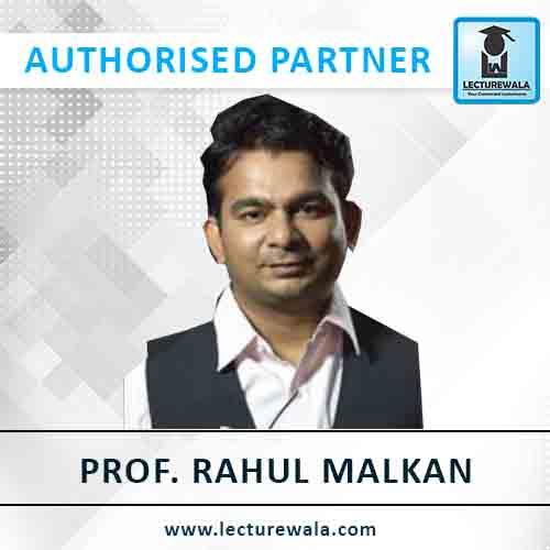 PROF. Rahul Malkan
