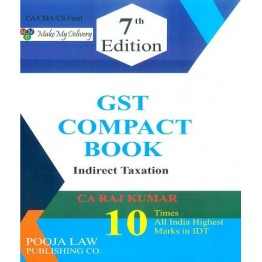 CA Final New/Old GST Compact Book For Nov 21 By CA Rajkumar