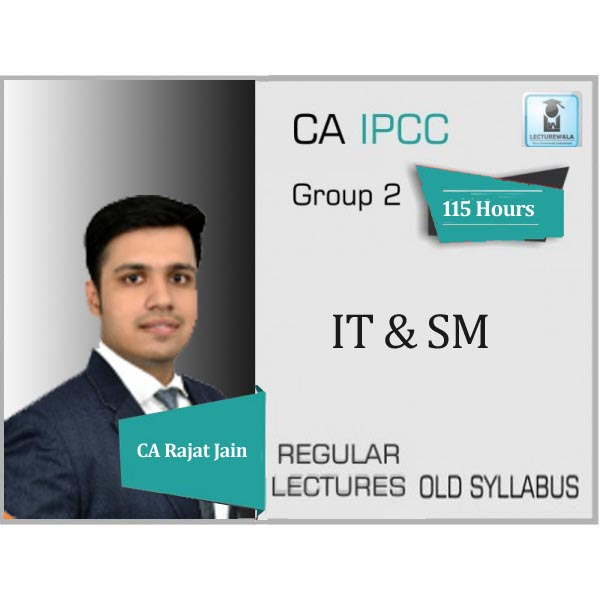 CA IPCC ITSM Regular Course : Video Lecture + Study Material By CA Rajat Jain (For May 2020 & Onwards)