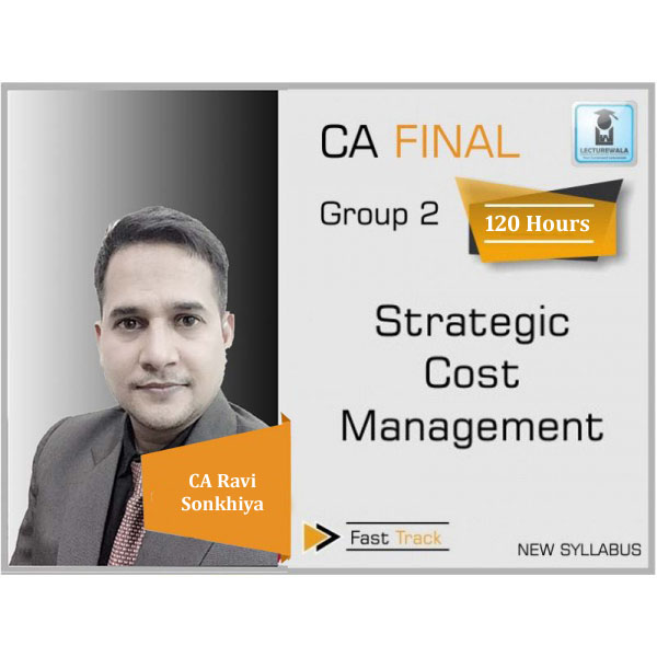 CA Final SCMPE (Costing New) Crash Course : Video Lecture + Study Material By CA Ravi Sonkhiya (For May 2020)