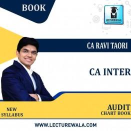 CA Inter Audit Chart Book (PRE-BOOKING): Study Material By CA Ravi Taori (For NOV.2021 & MAY 2022)
