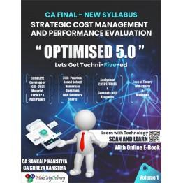 CA Final SCMPE 5.0 Optimised Book : Study Material By CA Sankalp Kanstiya (For Nov. 2021)