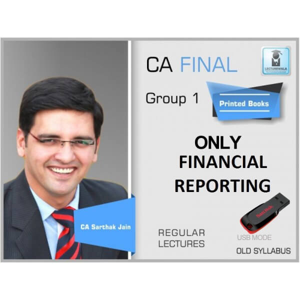 CA Final Old FR Only By CA Sarthak Jain (For May 2019)