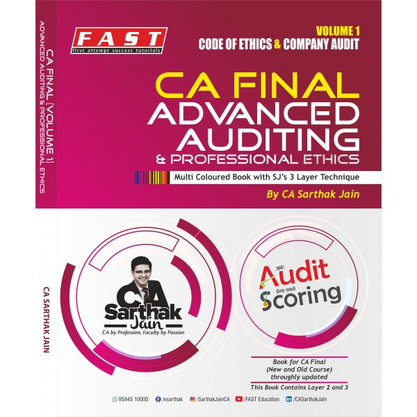 CA Final Audit New Syllabus Regular Course Latest Batch As per Revised Syllabus : Video Lecture + Study Material By CA Sarthak Jain (For Nov. 2019 & Onwards)