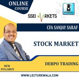 Stock Market Depro Trading Course Live Batch : By CFA Sanjay Saraf Sir