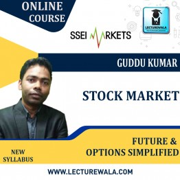Stock Market Futures & Options Simplified Live Batch : Video Lecture  by Guddu Kumar