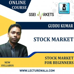 Stock Market For Beginners Course Live Batch : Video Lecture By Guddu Kumar (Starting From - 5th August 2021)