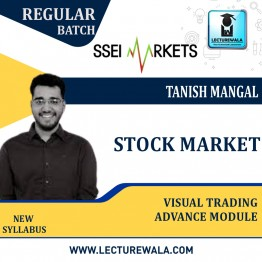 Stock Market Visual Trading Advance Module Course Live Batch : Video Lecture  By Tanish Mangal