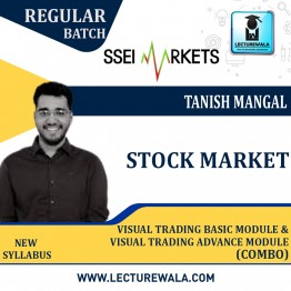 Stock Market Technical Combo (Visual Trading Basic + Visual Trading Advance Module) Course Live Batch : Video Lecture  By Tanish Mangal
