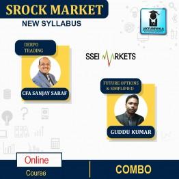 Stock Market Combo (Depro Trading + Futures & Options Simplified) Course Live Batch : By CFA Sanjay Saraf & Guddu Kumar