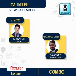 CA Inter EIS SM & ADV. ACCOUNT Full Course Combo : Video Lecture + Study Material By CA Swapnil Patni and CA Anand Bhangariya (For Nov. 2021 & May 2022)