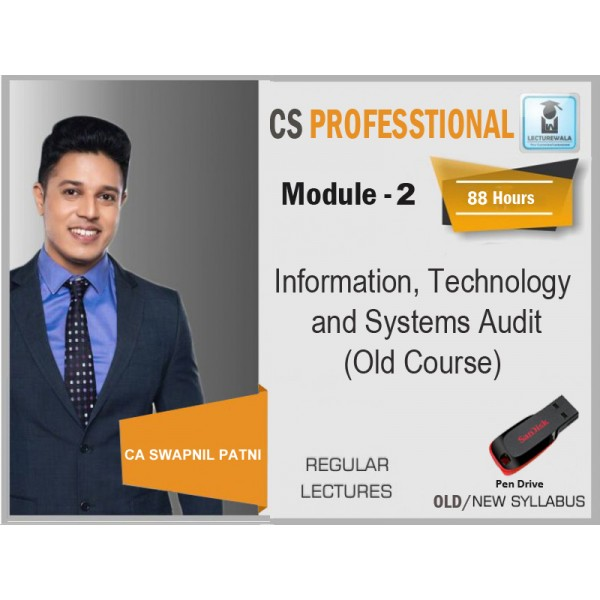 CS PROFESSIONAL ITSA (REGULAR COURSE) BY CA SWAPNIL PATNI (FOR JUNE & DEC. 19)