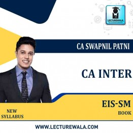 CA INTERMEDIATE GROUP II Enterprise Information Systems and Strategic Management   Book By CA SWAPNIL PATNI (For May / Nov. 2021)