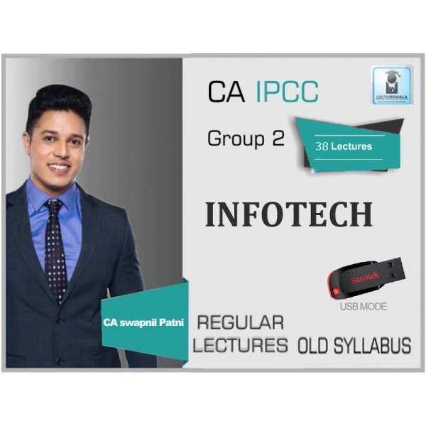 CA IPCC IT Regular Course : Video Lectures + Study Material By CA Swapnil Patni (For May 2020 & Onwards)