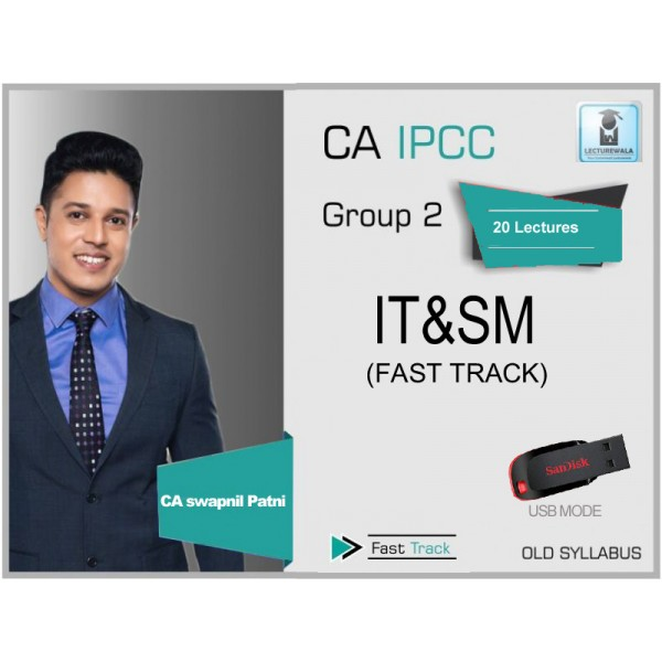 CA Ipcc ITSM Crash Course Old Syllabus : Video Lecture + Study Material By CA Swapnil Patni (For May 2020 & Nov. 2020)