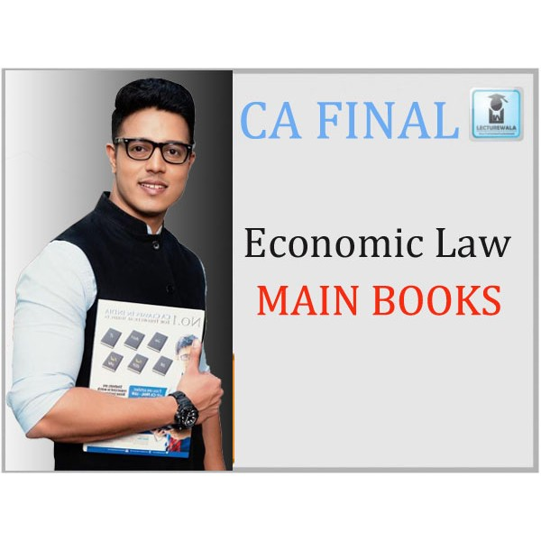 CA Final Only Economic Law New Syllabus : Main Book By CA Swapnil Patni (For May 2020 & Nov. 2019)