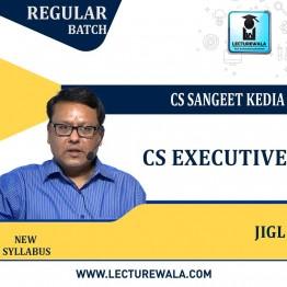 CS Executive Jurisprudence , Interpretation & General Law Regular Course : Video Lecture + Study Material By CS Sangeet Kedia (For June / Dec 2021 & Onwards Attempts)