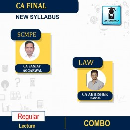 CA Final SCMPE and Law Regular Course : Video Lecture + Study Material By CA Sanjay Aggarwal and CA Abhishek Bansal (For May 2021 & Nov. 2021)