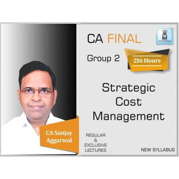 CA Final SCMPE New Syllabus Regular Course : Video Lecture + Study Material By CA Sanjay Aggarwal (For May 2020 & Nov. 2020)