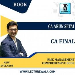 CA FINAL RISK MANAGEMENT COMPREHENSIVE BOOK BY CA SANJAY KHEMKA (For Nov.2021 / May 2022)