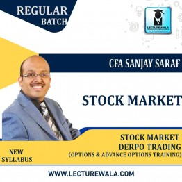 Stock Market DERPO TRADING (Options & Advance Options Training) Live Batch With Backup : by CFA Sanjay Saraf Sir (Starting From - 21st May)