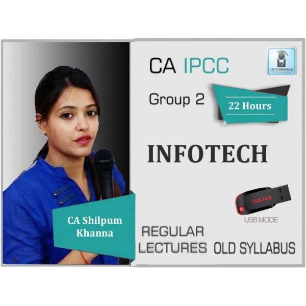 CA Ipcc Information Technology : Video Lecture + Study Material By Prof. Shilpum Khanna (For May 20 & Nov. 19)