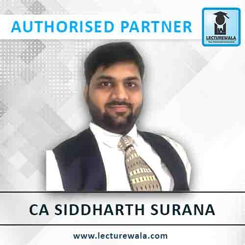 CA Siddharth Surana