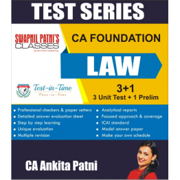 CA Foundation Law Test Series : By CA Ankita Patni (For Nov. 2020 and May 2021)