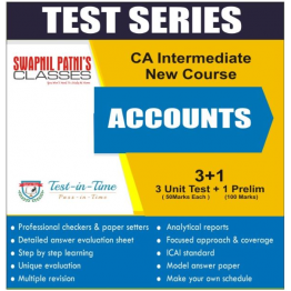 CA Inter Accounting  Regular Course Test Serial  : By CA Anand Bhangariya  (For Nov. 2020 and May 2021)